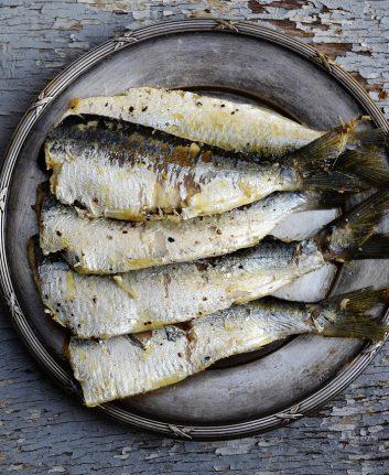 Sardines (c) Greekfood Tamystika CC0 Pixabay