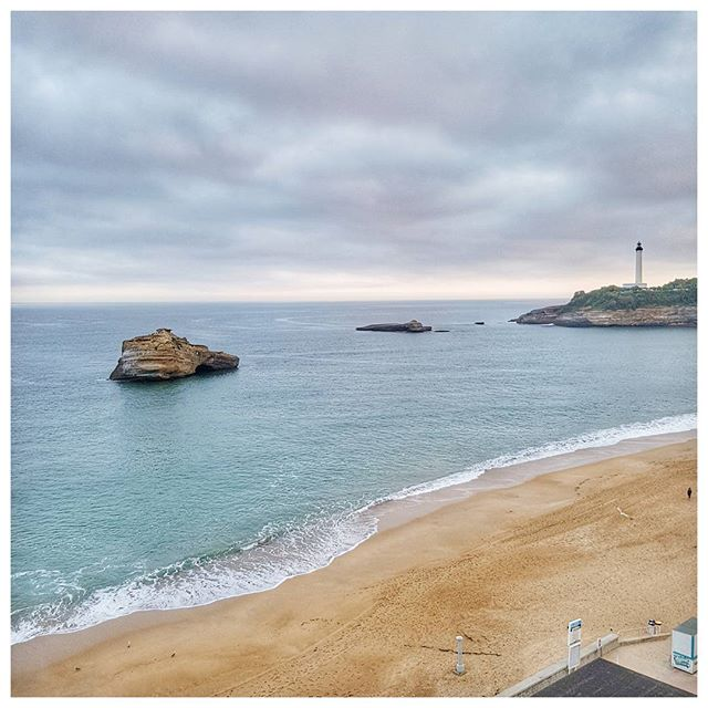 From Biarritz with love