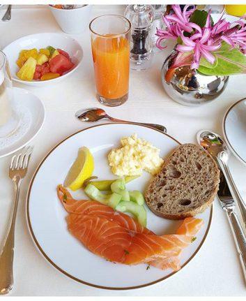 Petit déjeuner - Hôtel du Palais - BiarritzL'effet wow