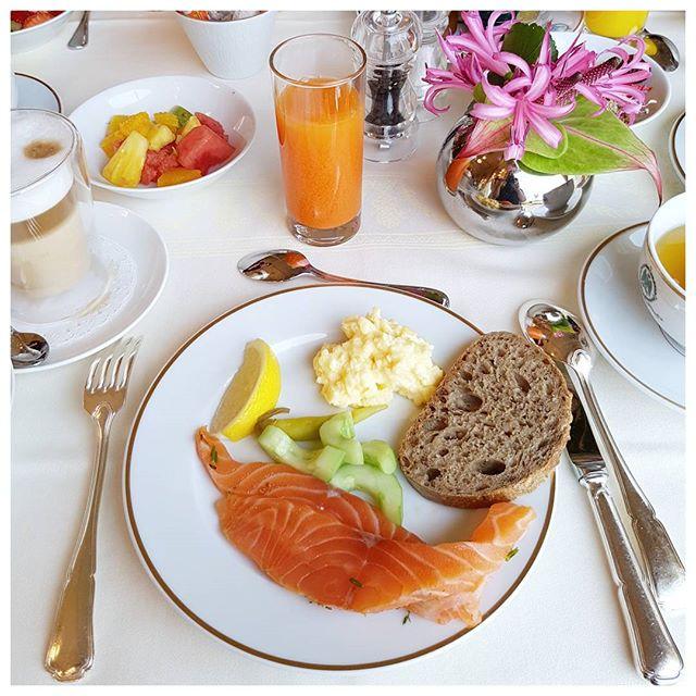 Petit déjeuner - Hôtel du Palais - Biarritz L'effet wow