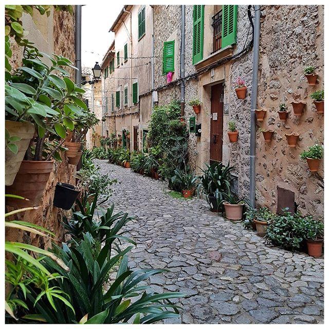 Les jolies ruelles de Valldemossa - Majorque