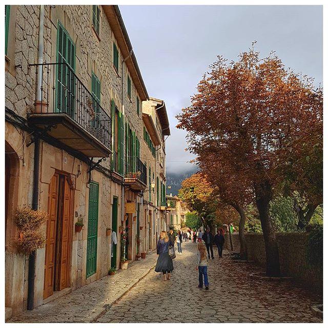 Les ruelles de Valldemossa, Majorque