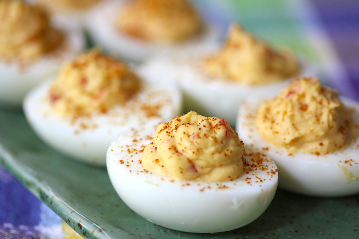 Devil eggs (c) Meal Makeover Moms CC BY-ND 2.0