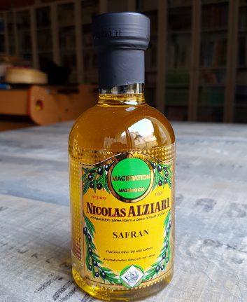 Huile d'olive au safran Nicolas Alziari