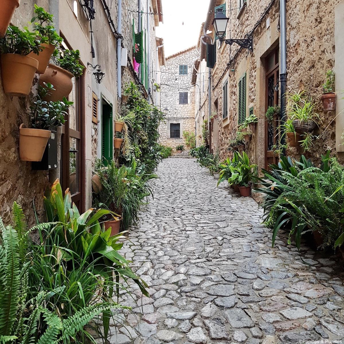 Jolie rue de Valldemossa