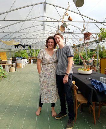 Lucille Bonnet et Thomas Panzolato