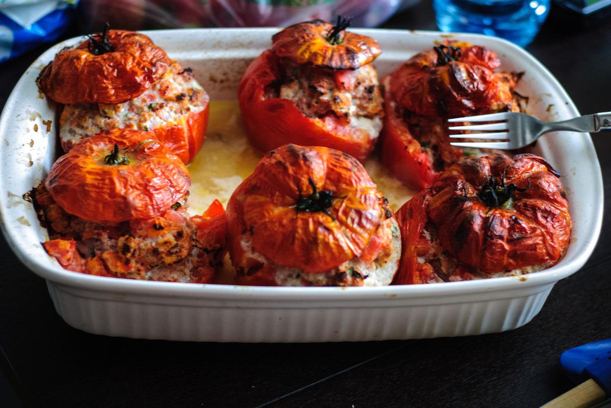 Tomates farcies ©Jérôme-Decq licence CC-BY-2.0