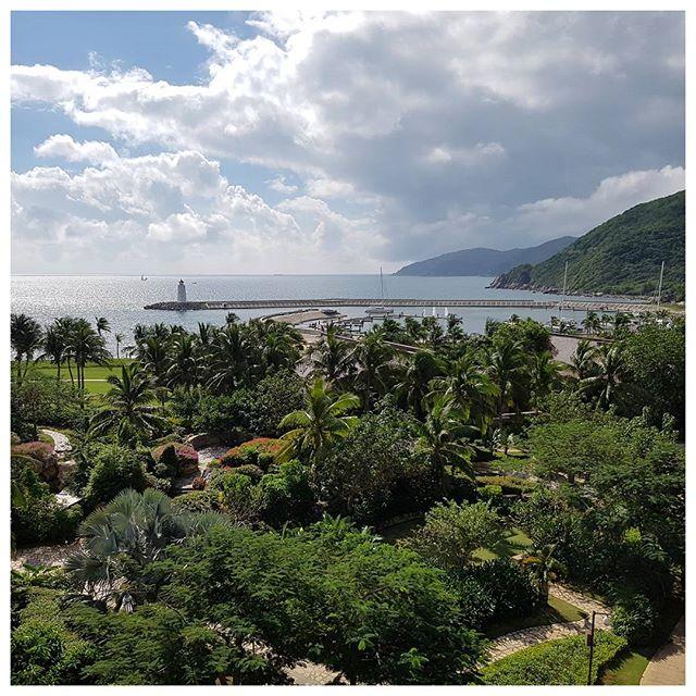 Vue de ma chambre d'hôtel - Sanya Bay, Chine