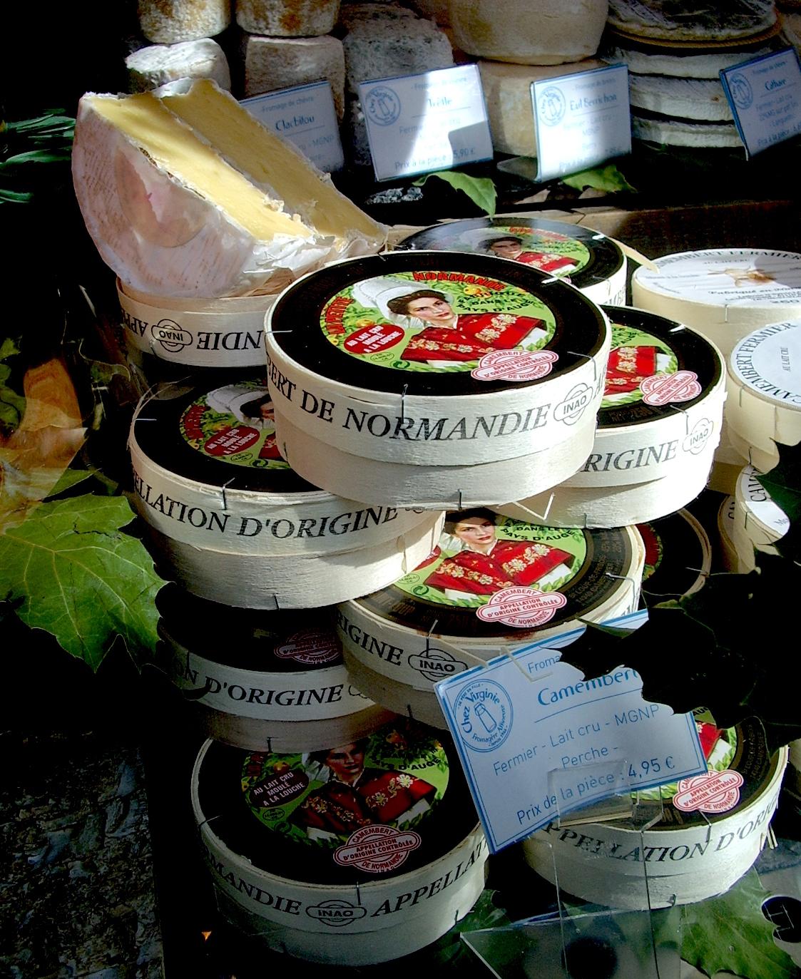 Camembert de Normandie (c) Jennifer CC BY-NC-ND 2.0