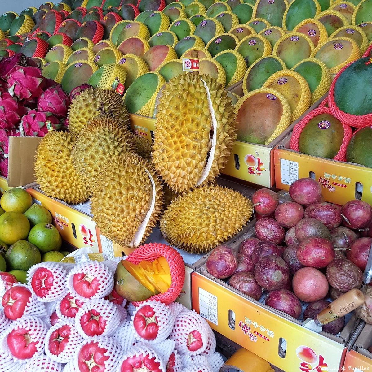 Hainan - Fruits exotiques