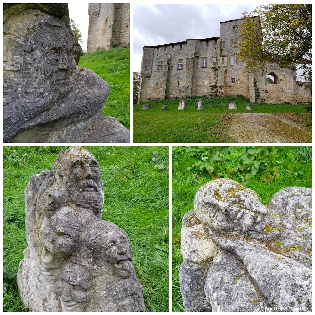 Les statues mystérieuses de Pujols