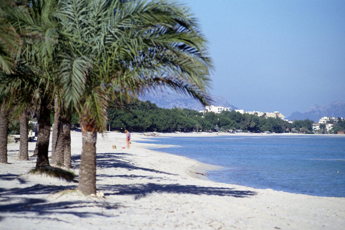 Playa de Alcúdia. Mallorca