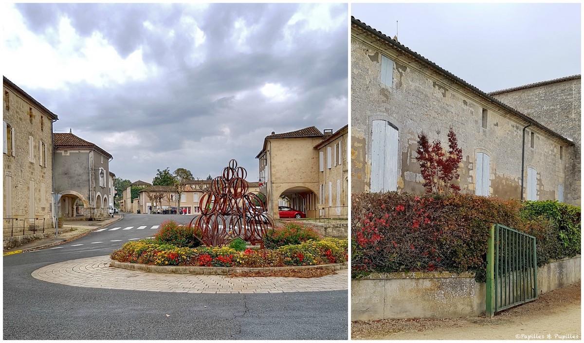 Pujols et Eglise de Saint Pey de Castets