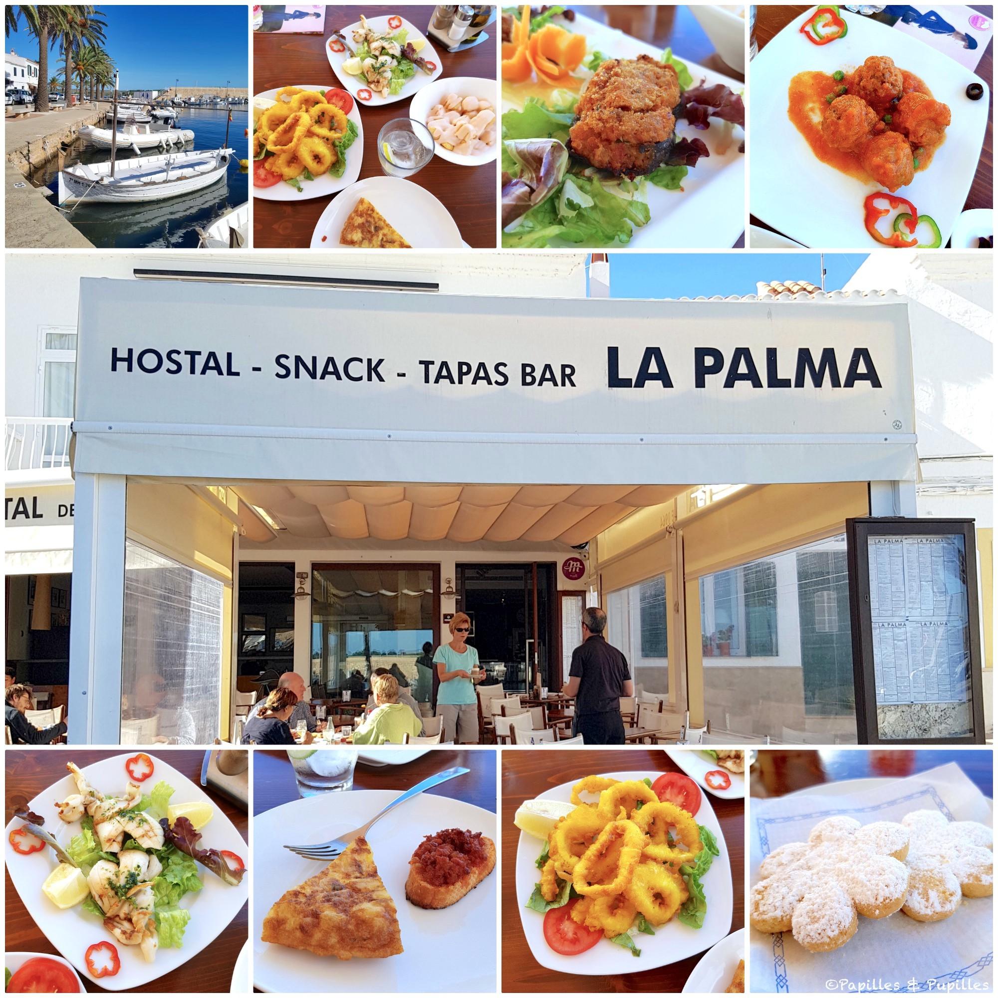 Restaurant La Palma - Port de Fornells