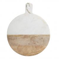 Planche marbre & bois