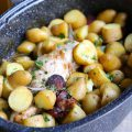 Filet mignon pommes de terre chorizo