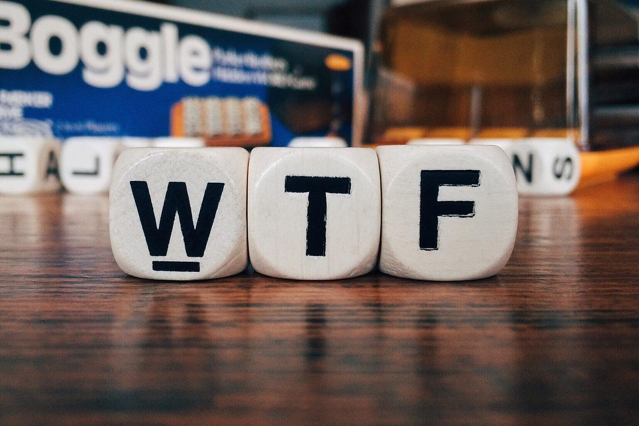 WTF (c) Wokandapix CC0 Pixabay