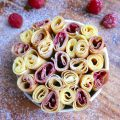 Crêpes bouquet de roses ©AnneLATAILLADE non libre de droits