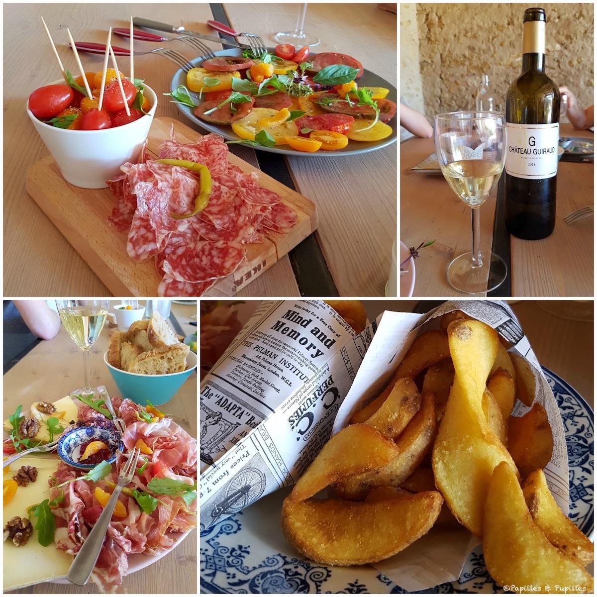 Déjeuner - La petite Guinguette - Sauternes