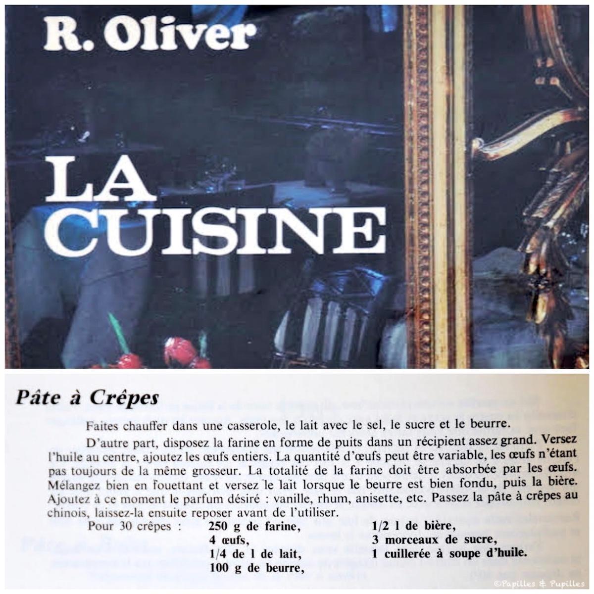 La pâte à crêpes de Raymond Oliver