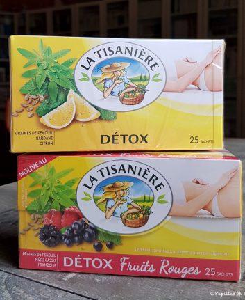 Detox citron et detox fruits rouges - La Tisanière