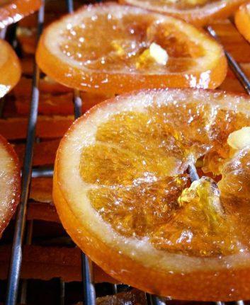 Oranges confites (c) Pâtisserie Couto