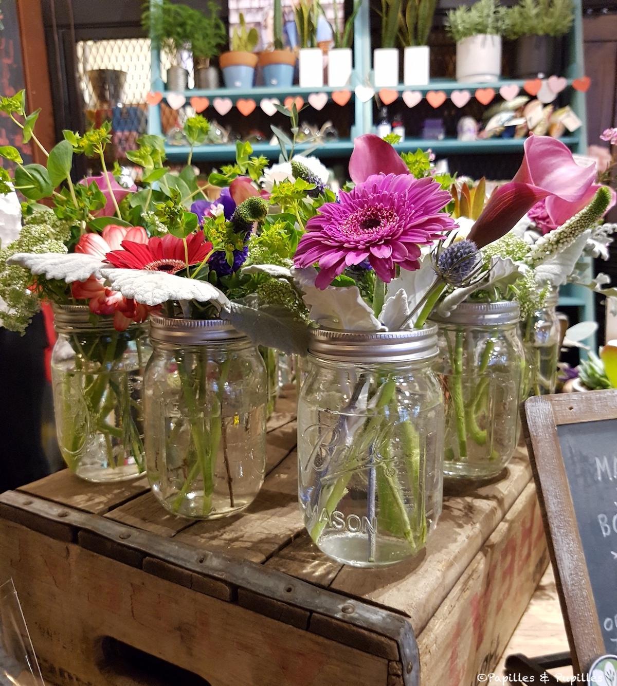 Bouquets Mason Jar