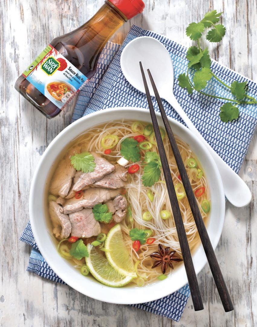 Phở bò, la soupe vietnamienne