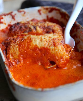 Quenelle sauce tomate piquillos