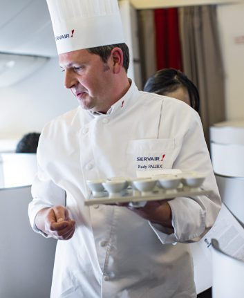 Rudy Faliex - Chef Servair