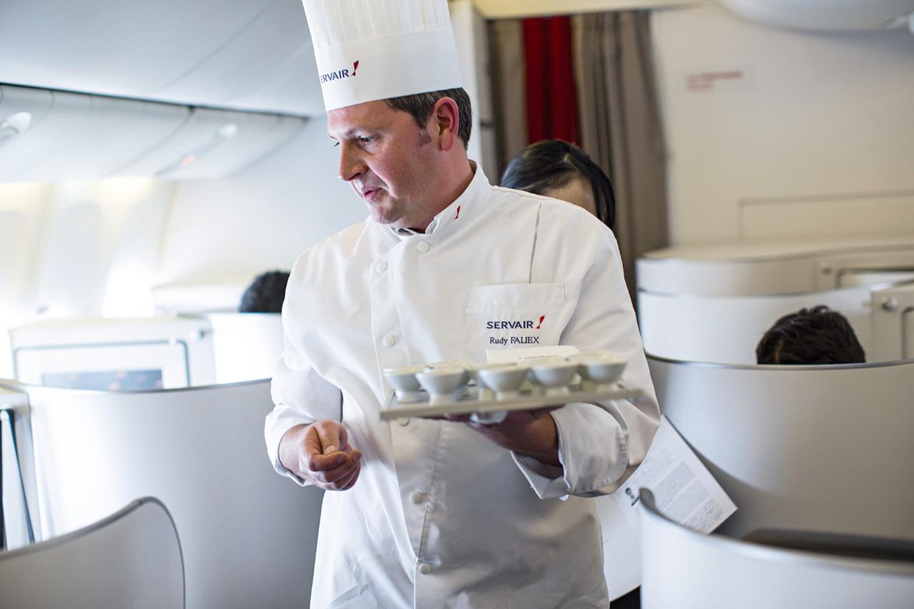 Rudy Faliex - Chef Servair