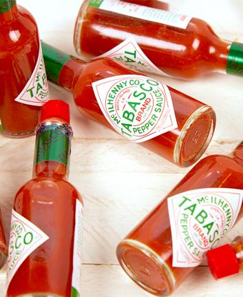 Tabasco - Sauce pimentée.