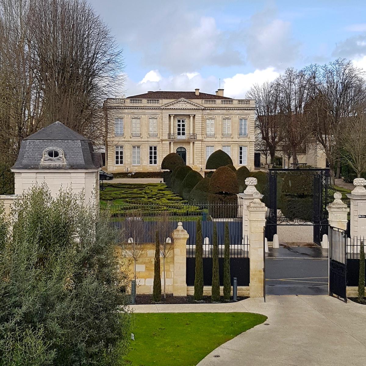 Institut Bernard Magrez - Vue depuis la Grande Maison