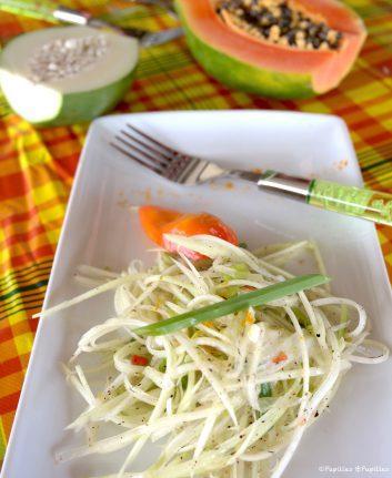 Salade de papaye façon Katia