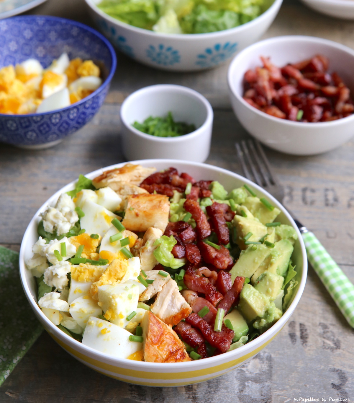 Bowl salade Cobb