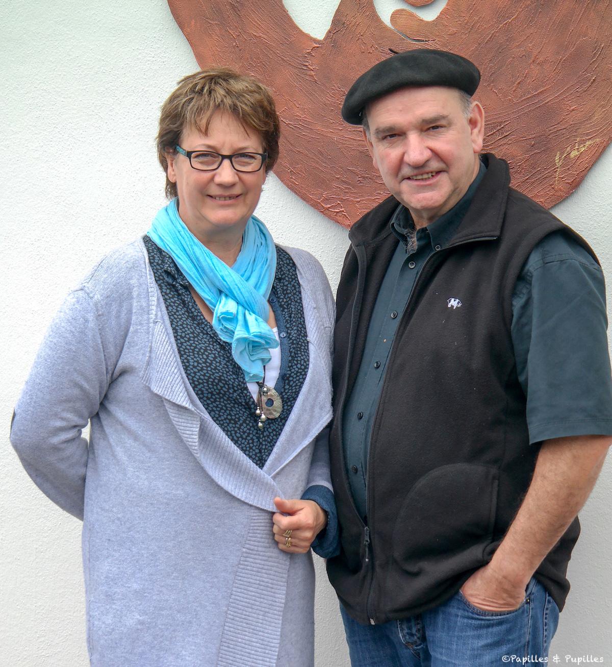 Catherine et Pierre Oteiza