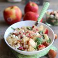 Salade de quinoa et Pink Lady