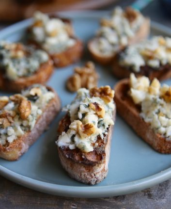 Tartine Roquefort Noix