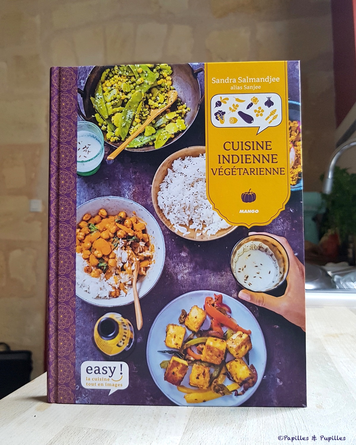 Cuisine indienne végétarienne - Sandra Salmandjee
