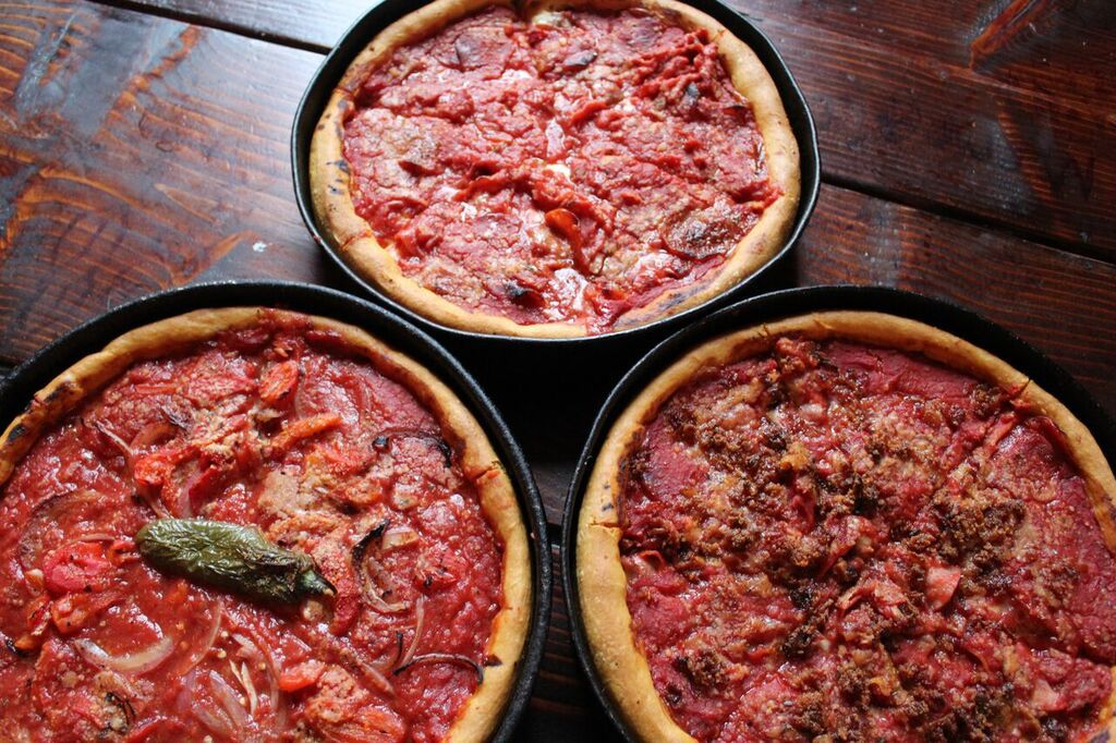 Deep Dish PIzza - Gino's Pizza