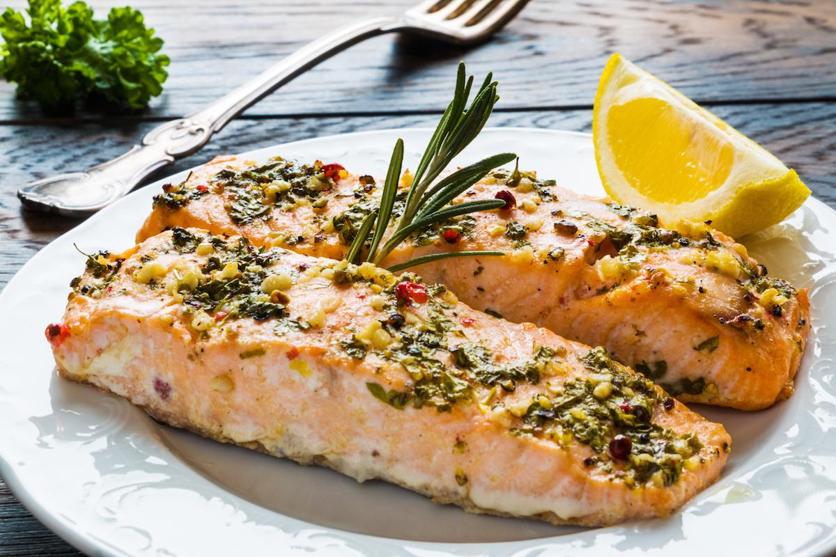 cuisson filet de saumon au four