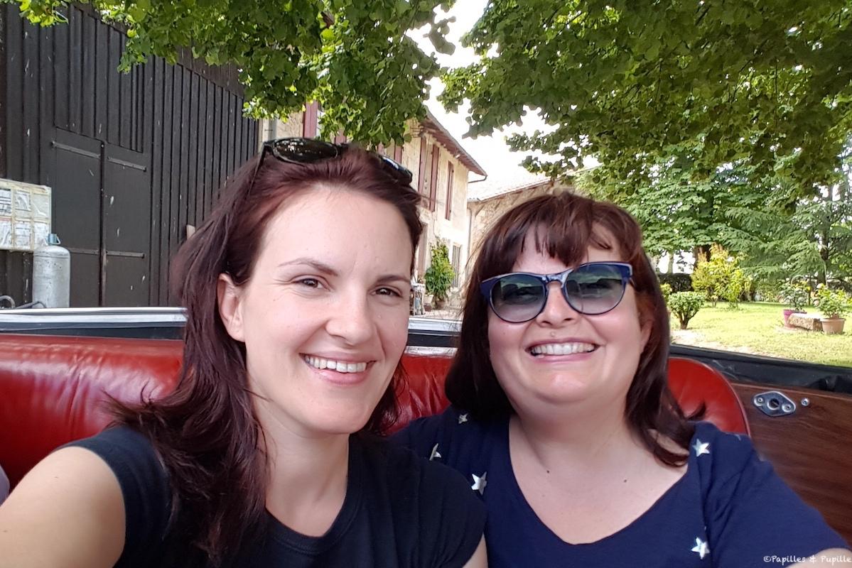 Avec Anne Victoire dans la Cadillac - Thelma et Louise