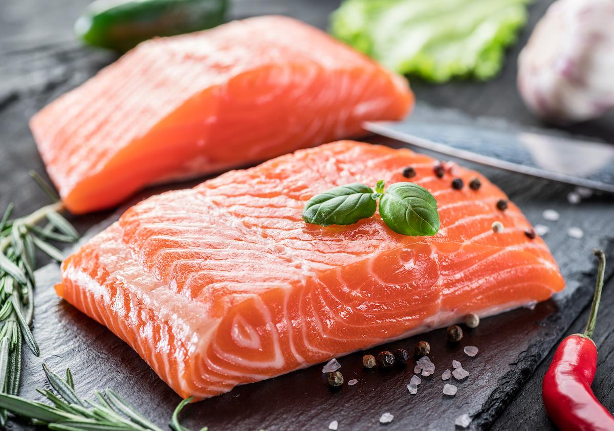 Filets de saumon ©Valentyn Volkov shutterstock