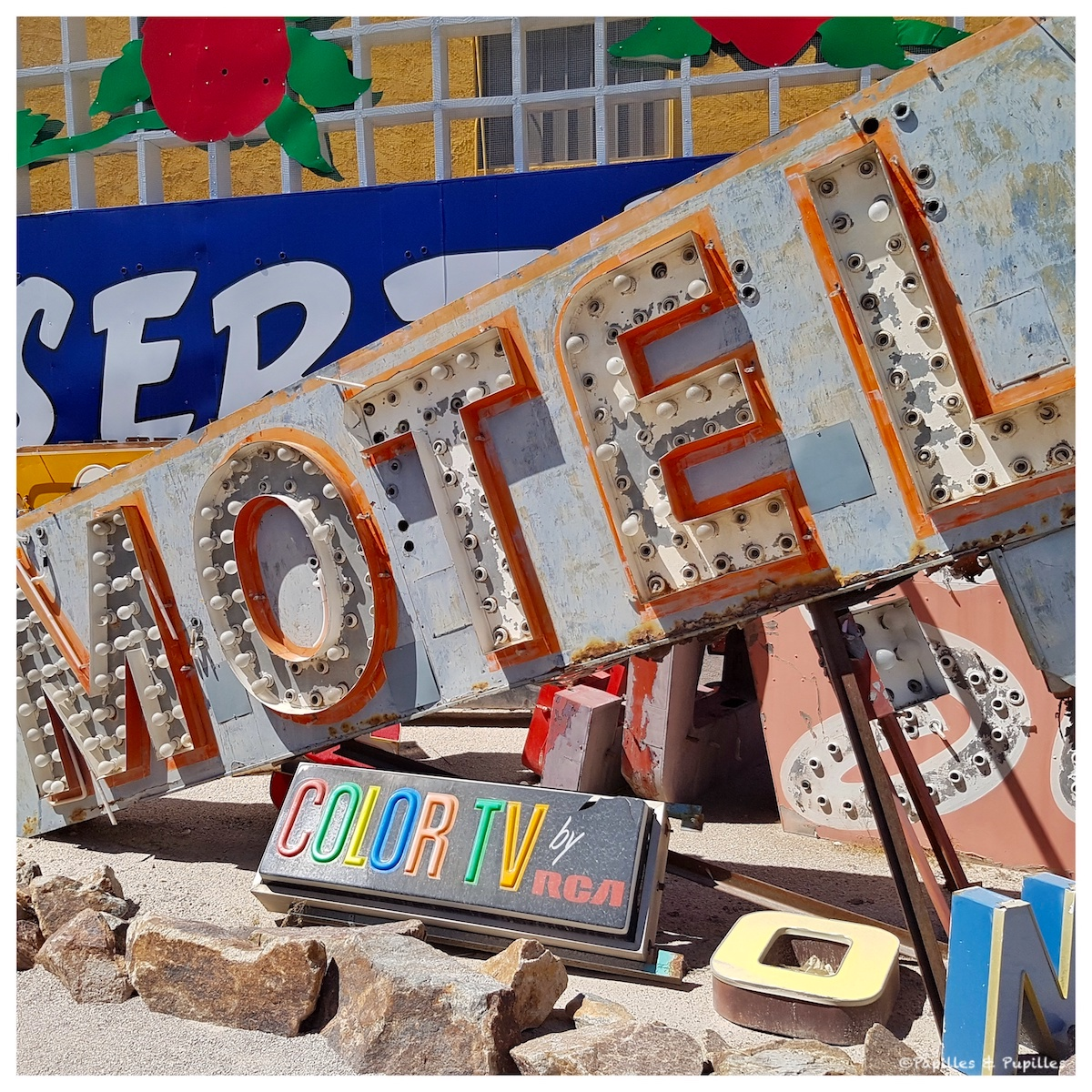 Motel - Neon Museum - Las Vegas