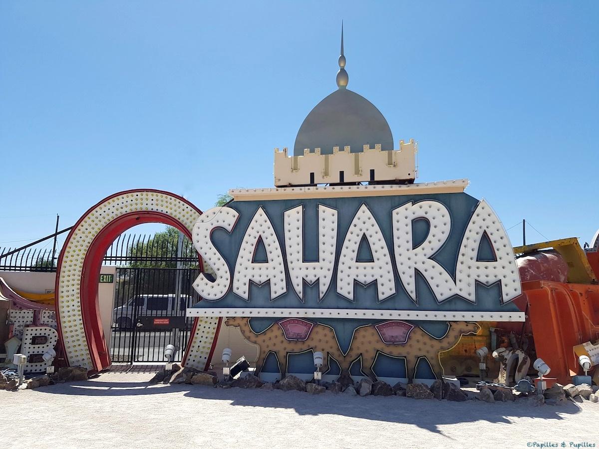Sahara - Neon Museum - Las Vegas