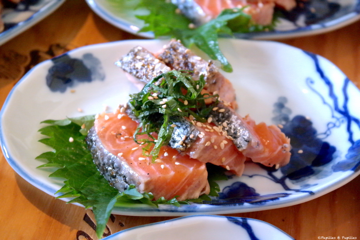 Tataki de saumon de Junko