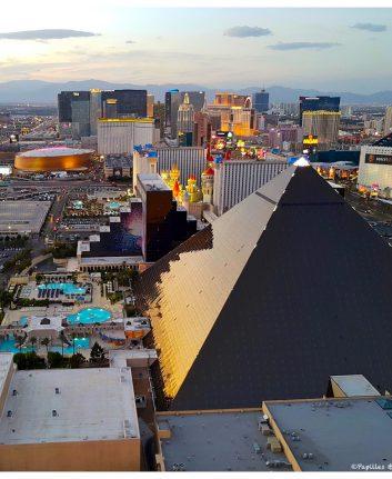 Vue sur Las Vegas depuis le Delano