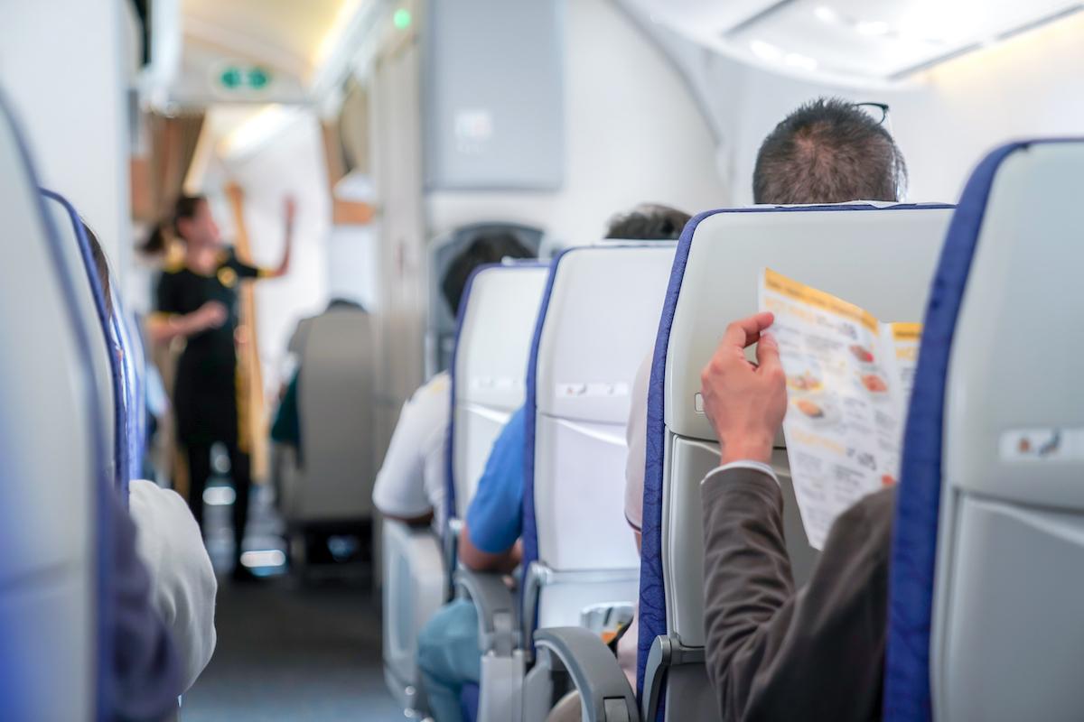 Cabine d'avion © Surachet Jo shutterstock