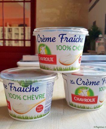 Crème fraîche 100% Chèvre