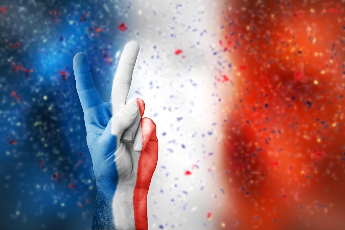 Victoire pour la France © Akos Nagy shutterstock